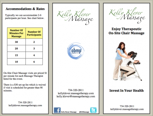 Kelly Klever Masssage. Kelly Klever Massage